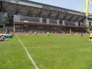 Südtribünenmeisterschaft im Schatten des Westfalenstadions